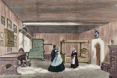 Martin Luther's Room in Wartburg Castle--Giclee Print
