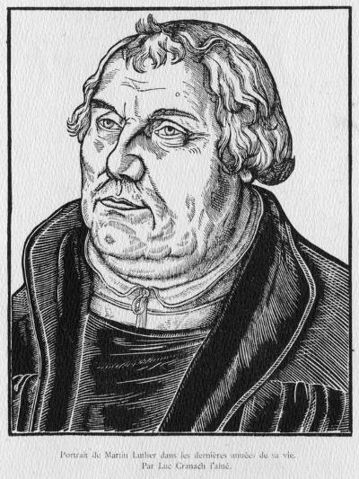 Martin Luther-Lucas the Elder Cranach-Giclee Print
