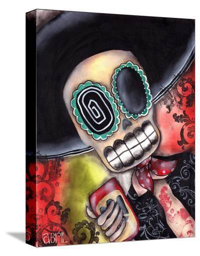 Martin Mariachi-Abril Andrade-Stretched Canvas Print
