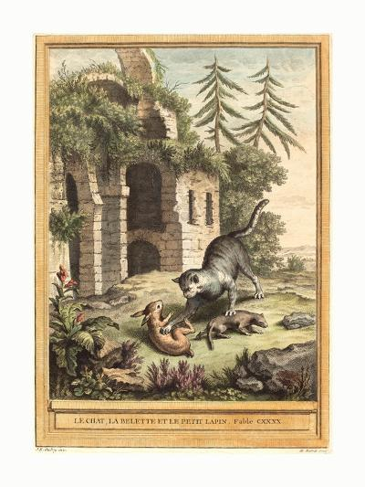 Martin Marvie after Jean Baptiste Oudry (French--Giclee Print
