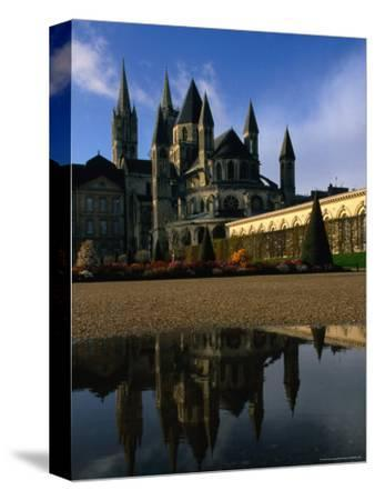 Abbeye Aux Hommes, or Abbey for Men, and Eglise St. Etienne, Caen, France