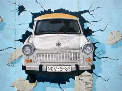Berlin Wall Mural, East Side Gallery, Berlin, Germany