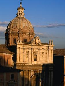 Chiesa Luca E Martina, Rome, Italy by Martin Moos