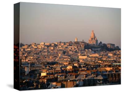 Cityscape with Sacre-Couer Basilica, Paris, France