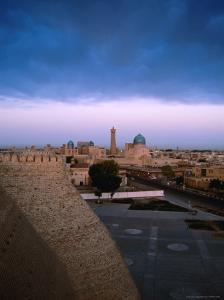 Clouds Over Old Town, Uzbekistan by Martin Moos