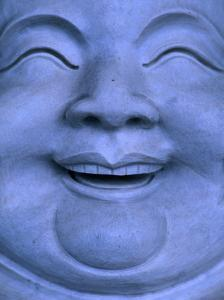 Detail of Buddha statue, Hualien, Taiwan by Martin Moos