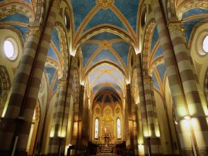 Inside St. Lorenzo Cathedral, Alba, Italy by Martin Moos