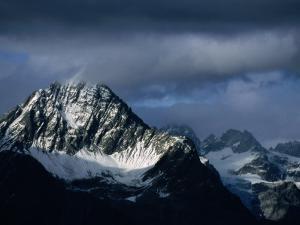 Peak of Piz Linard, Swiss National Park, Zernez, Switzerland by Martin Moos