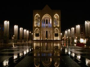 Place St. Lambert at Night, Liege, Belgium by Martin Moos