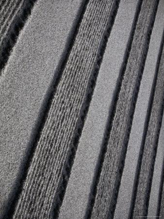Raked Sand Patterns in Gardens of Ginkaku-Ji Temple, Kyoto, Japan