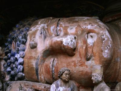 Reclining Buddha at Baoding Grottoes, Dazu, China