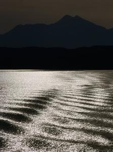 Sea with Highlands in Background, United Kingdom by Martin Moos
