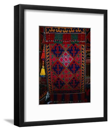 Textile decoration, Kyrgyzstan
