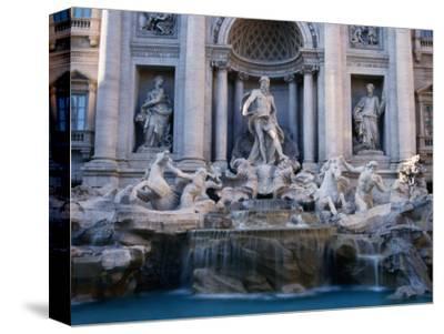Trevi Fountain, Created by Nicola Salvi, Rome, Italy