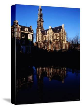 Westerkerk and Keizersgracht Canal, Amsterdam, Netherlands