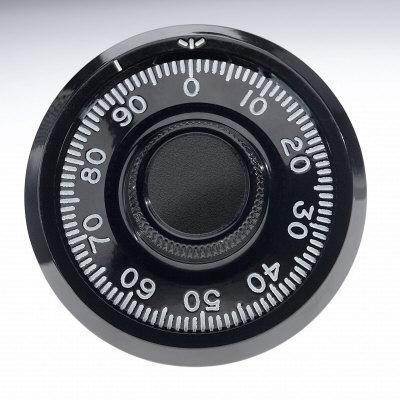 Close-up of Combination Lock Dial