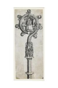 A Bishop's Crozier, C. 1475-1480 by Martin Schongauer