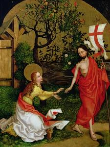 Altarpiece of the Dominicans: Noli Me Tangere, circa 1470-80 by Martin Schongauer