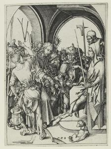 Christ before Annas by Martin Schongauer
