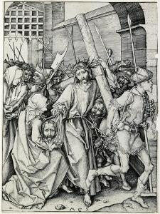 Christ Carrying the Cross by Martin Schongauer