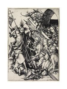 Christ in Limbo, C. 1480 by Martin Schongauer