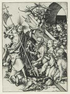 Christ in Limbo by Martin Schongauer