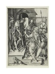 Ecce Homo by Martin Schongauer