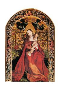 Madonna in Rose Garden, 1473 by Martin Schongauer