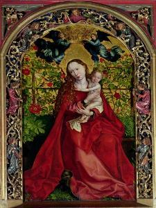 Madonna of the Rose Bower, 1473 by Martin Schongauer
