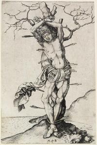 Saint Sebastian, C. 1480-1490 by Martin Schongauer