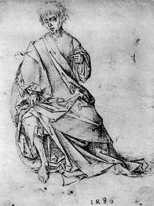 Study of a Man, 1913 by Martin Schongauer