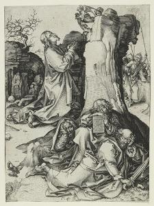 The Agony in the Garden by Martin Schongauer