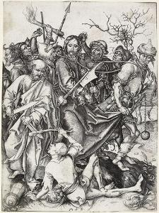 The Capture of Christ, C. 1480 by Martin Schongauer