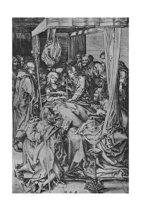 'The Death of the Virgin', c1475 by Martin Schongauer