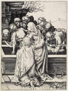 The Entombment, C. 1480 by Martin Schongauer