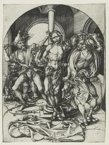 The Flagellation by Martin Schongauer
