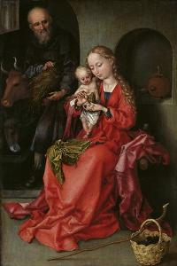 The Holy Family, 1480-1490 by Martin Schongauer