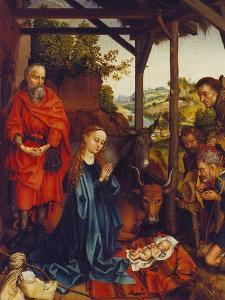 The Nativity, about 1480 by Martin Schongauer