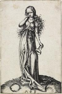 The Third Foolish Virgin, C. 1480-1488 by Martin Schongauer