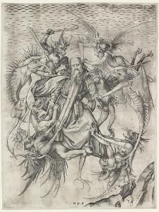 The Tribulations of St Anthony by Martin Schongauer