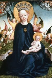 Virgin and Child, 15th Century by Martin Schongauer