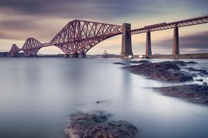 Forth Rail Bridge by Martin Vlasko