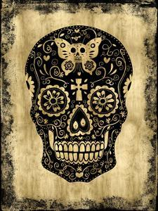 Day of the Dead in Black & Gold by Martin Wagner