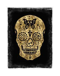 Day of the Dead in Gold & Black by Martin Wagner