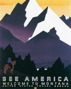See America, Welcome to Montana by Martin Weitzman