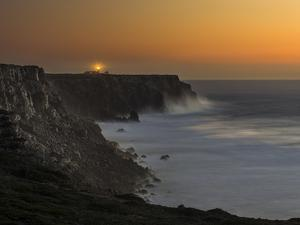 Cabo de Sao Vincente with its lighthouse, Algarve, Portugal. by Martin Zwick