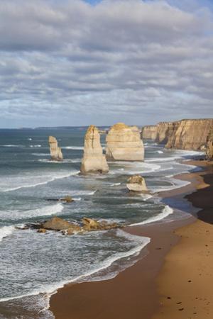 Coastline, 12 Apostles, Great Ocean Road, Port Campbell Np, Victoria, Australia by Martin Zwick