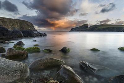 Fair Isle. in the Far North of Scotland. the Coast Near Finni Quoy. Scotland, Shetland Islands by Martin Zwick