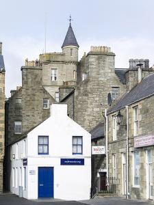 Old town waterfront, Lerwick, Scotland, Northern Isles, Shetland. by Martin Zwick