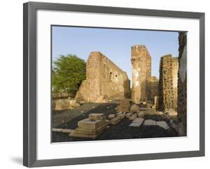 Ruin of cathedral Se Cathedral. Cidade Velha, historic center of Ribeira Grande by Martin Zwick